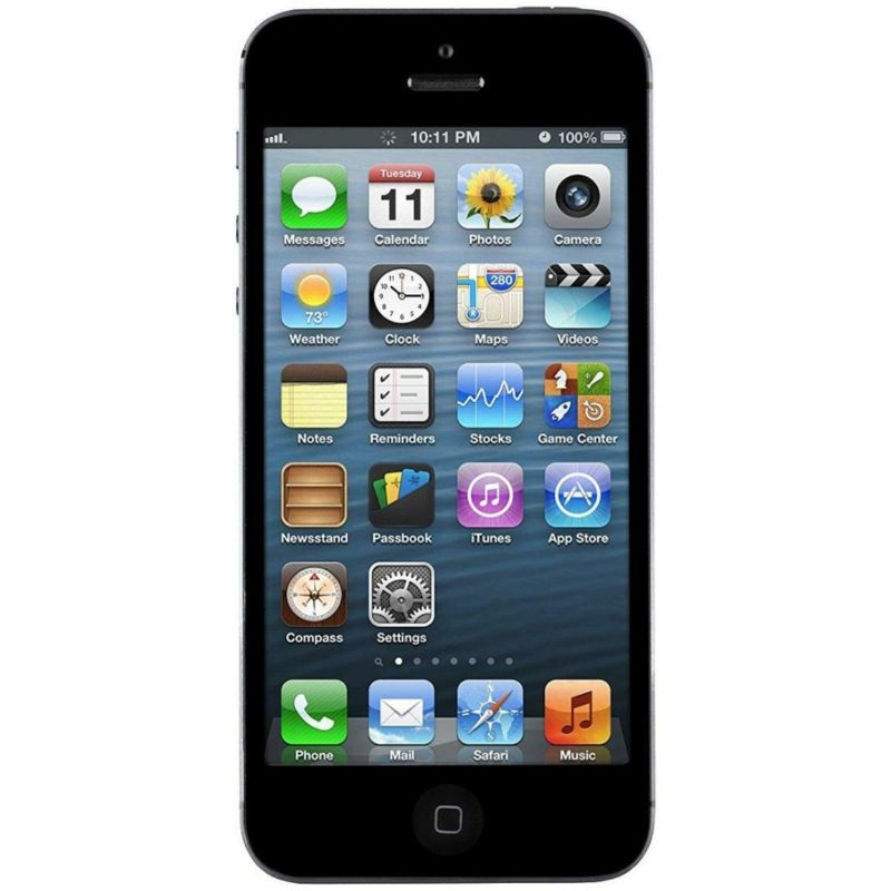 Apple iPhone 5, 16GB, Black - Unlocked-Daily Steals
