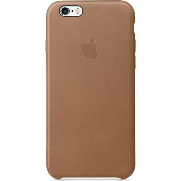 Apple Leather Case for iPhone 6 and 6S-Brown-Daily Steals