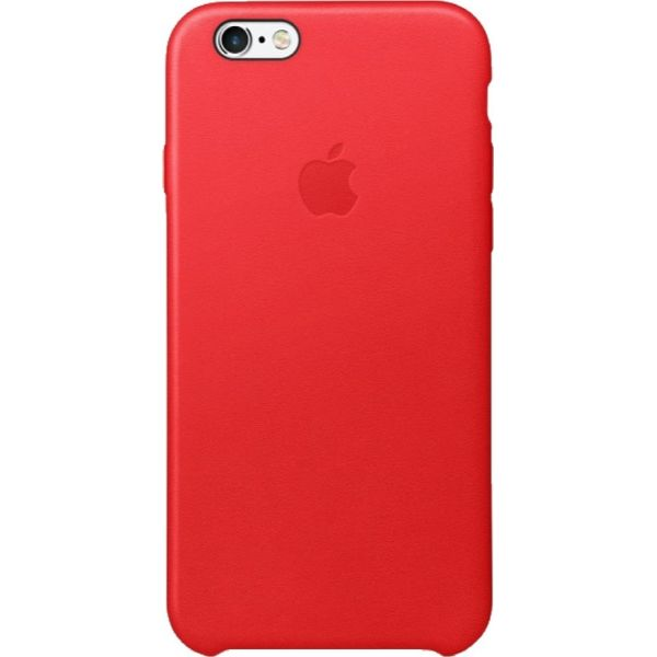 Apple Leather Case for iPhone 6 and 6S-Red-Daily Steals