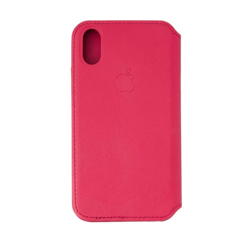 Apple Leather Folio for iPhone X/Xs-Berry-Daily Steals