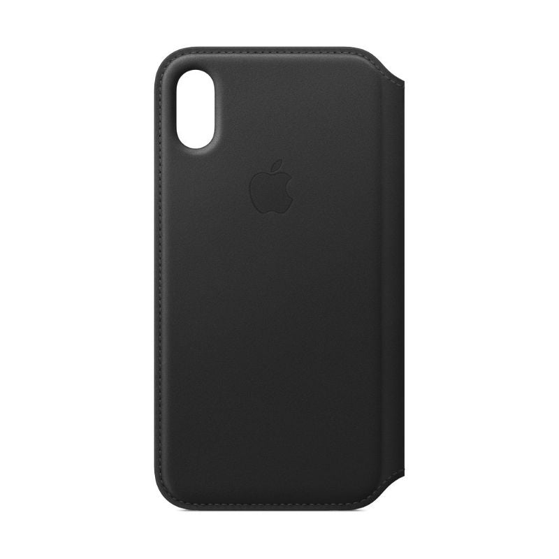 Apple Leather Folio for iPhone X/Xs-Black-Daily Steals