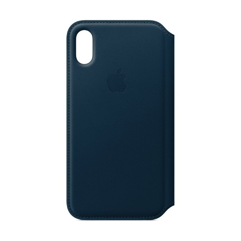 Apple Leather Folio for iPhone X/Xs-Cosmos Blue-Daily Steals