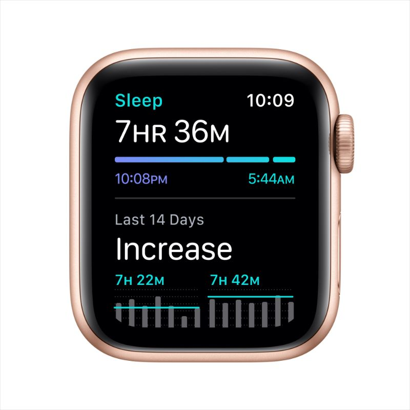 Apple Watch SE 40mm Aluminum 32GB WiFi Bluetooth GPS Gold Pink Sand