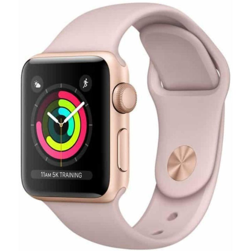 Apple Watch Series 2 38mm, WiFi - 2 Colors Available-Rose Gold Aluminum Case Pink Sand Sport Band-Daily Steals