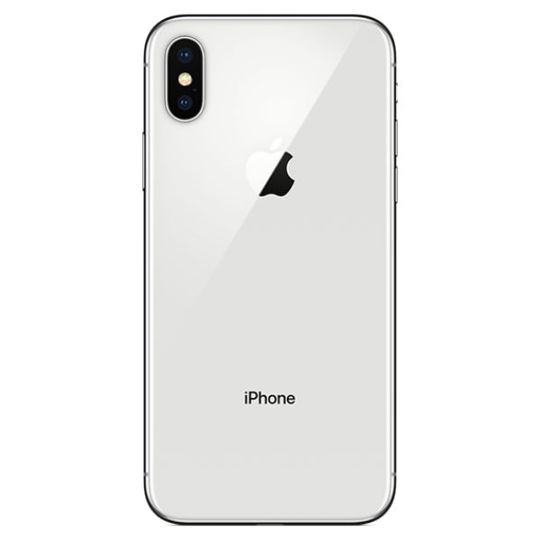 Apple iPhone X 64GB or 256GB - AT&T Locked-Silver-64GB-Daily Steals