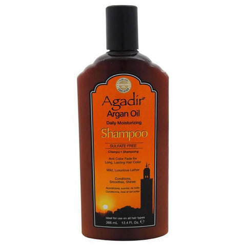 Daily Steals-Argan Oil Daily Moisturizing Shampoo by Agadir for Unisex - 12 oz Shampoo-Personal Care-