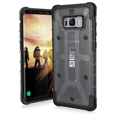 update alt-text with template Daily Steals-UAG Samsung Galaxy S8+ Plasma Feather-Light Rugged Military Drop Tested Phone Case-Cell and Tablet Accessories-Ash-