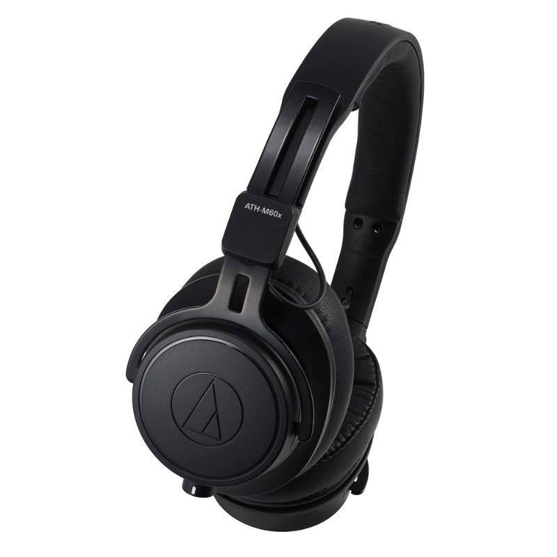 ATH-M60X On-Ear Closed-Back Dynamic Professional Studio Monitor Headphones-Daily Steals