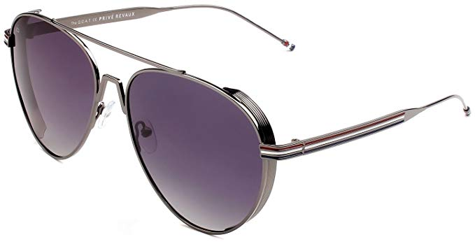 "PRIVÉ REVAUX ICON Collection ""The G.O.A.T"" Designer Polarized Aviator Sunglasses-Daily Steals"