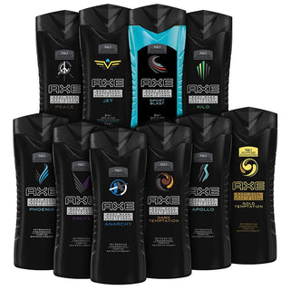 Daily Steals-[10-Pack] AXE Shower Gel / Body Wash 8.45 oz - Assorted Scents-Health and Beauty-