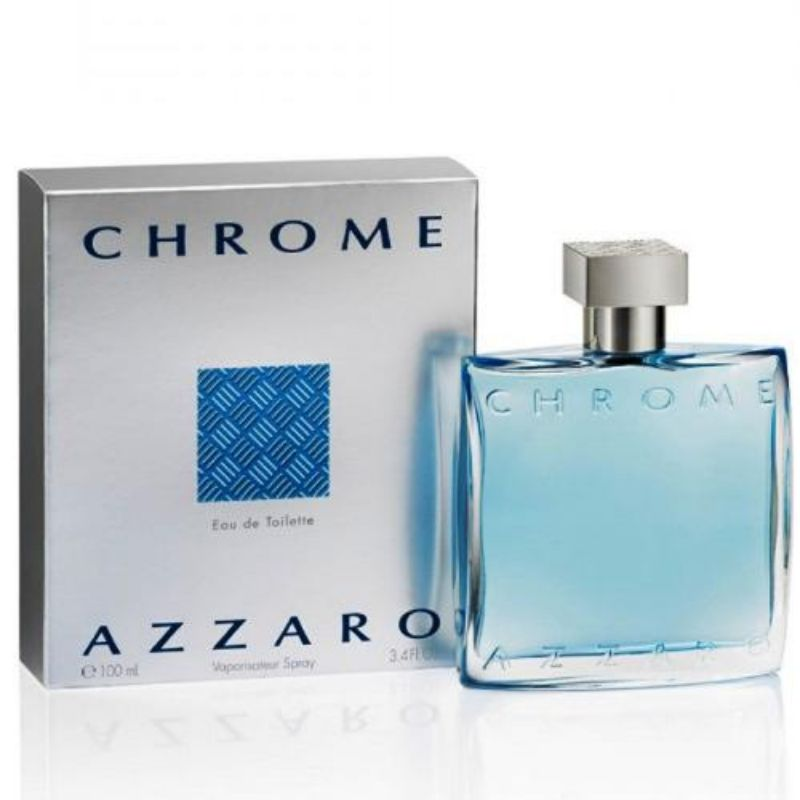 Azzaro Chrome Eau De Toilette For Men - 3.4 oz-Daily Steals