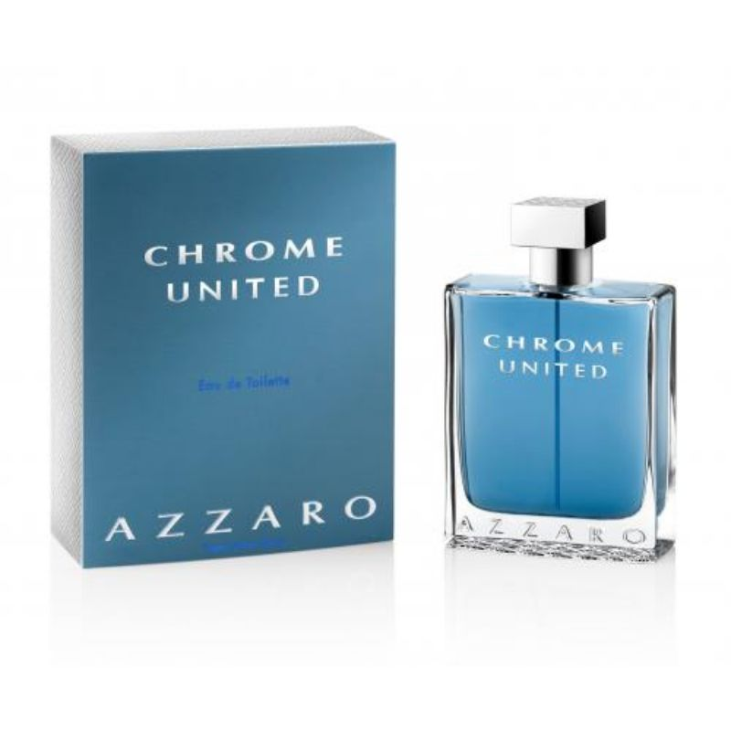 Azzaro Chrome United Eau De Toilette For Men - 6.8 oz-Daily Steals