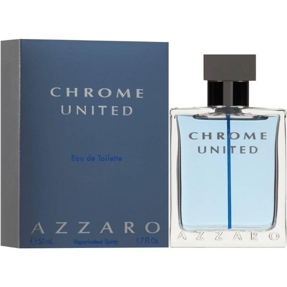 Azzaro Chrome United Eau de Toilette Spray 1.7 Fl.Oz-