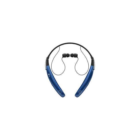 LG Tone Pro Bluetooth Stereo Headphones with Behind-The-Neck Design-Blue-Daily Steals