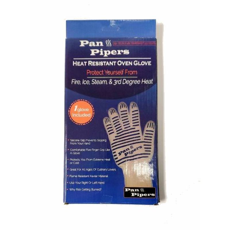 Pan Pipers Oven Double Sided Glove Mitt-Daily Steals