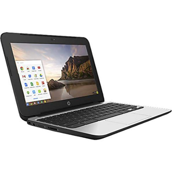 HP ChromeBook 11 G4 EE: 11.6-inch (1366x768) Intel Celeron N2840 2.16GHz, Gray-Daily Steals