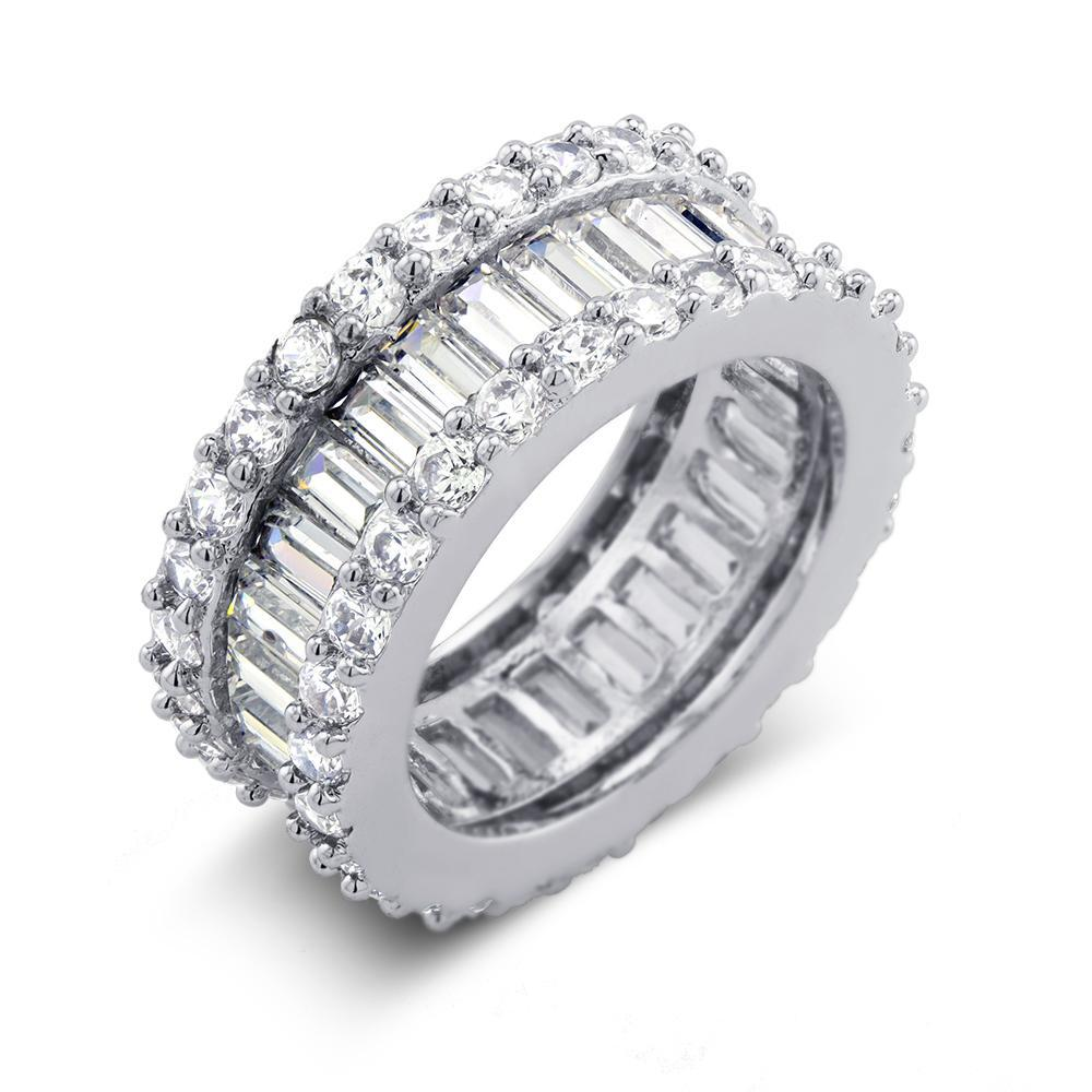 10 CTTW Diamond Accent Eternity Band-Size 6-Daily Steals