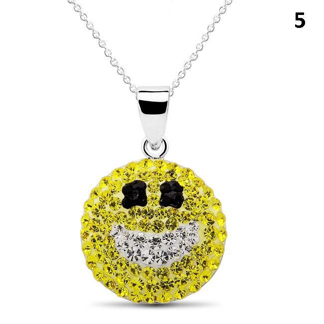 Crystal Emoji Designed Drop Necklace-Style 5-Daily Steals