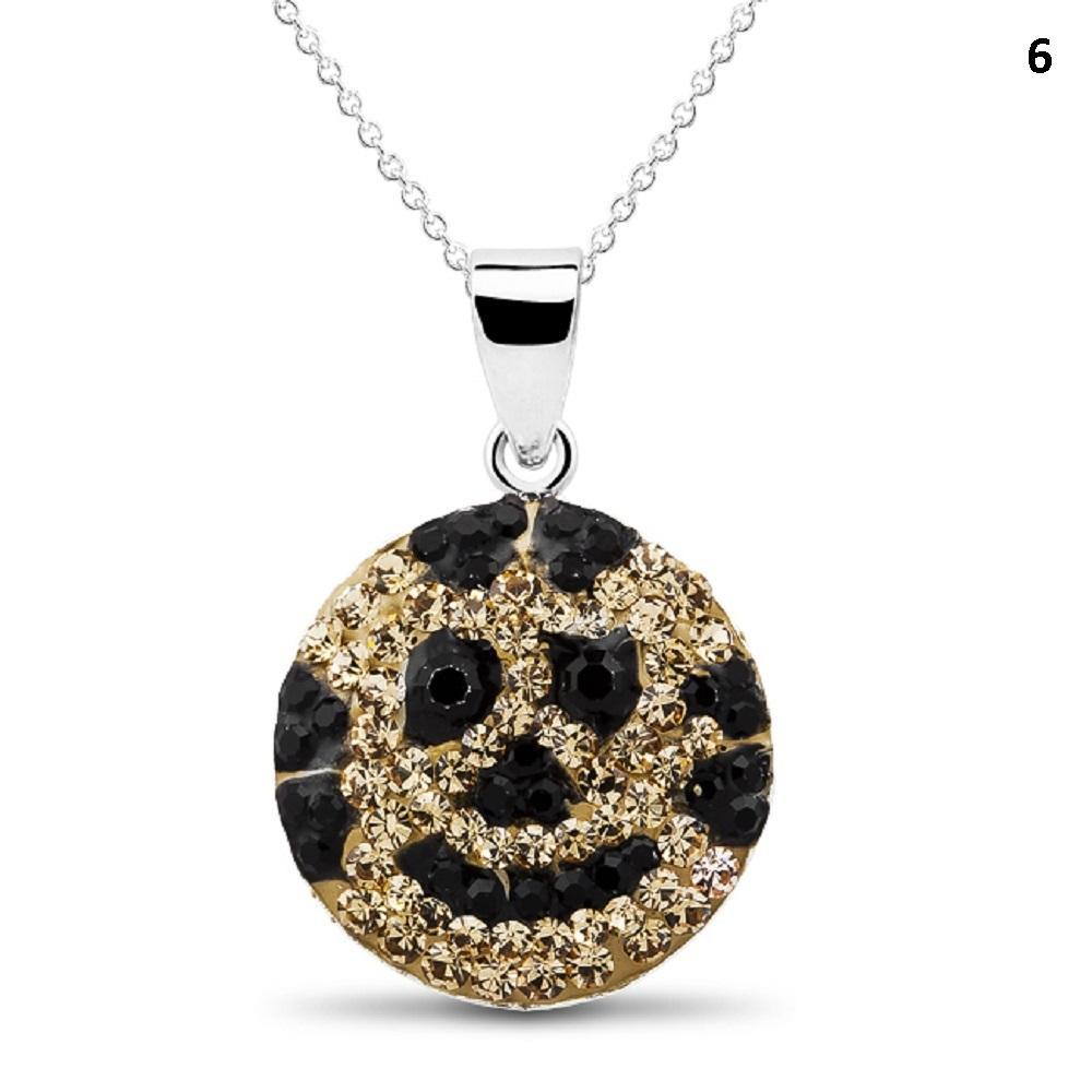 Crystal Emoji Designed Drop Necklace-Style 6-Daily Steals