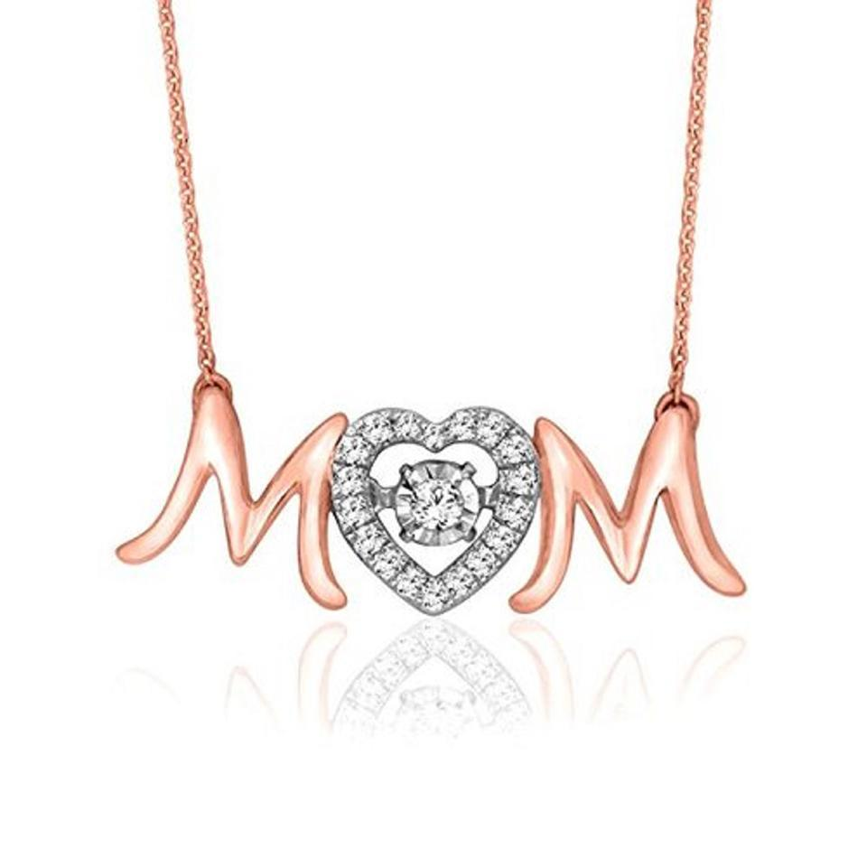 18KT Rose Gold Plated Mom Necklaces-World-Daily Steals