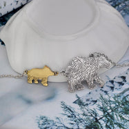 Mama Bear Necklace-Mom And One Kid-Daily Steals