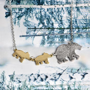 Mama Bear Necklace-Daily Steals