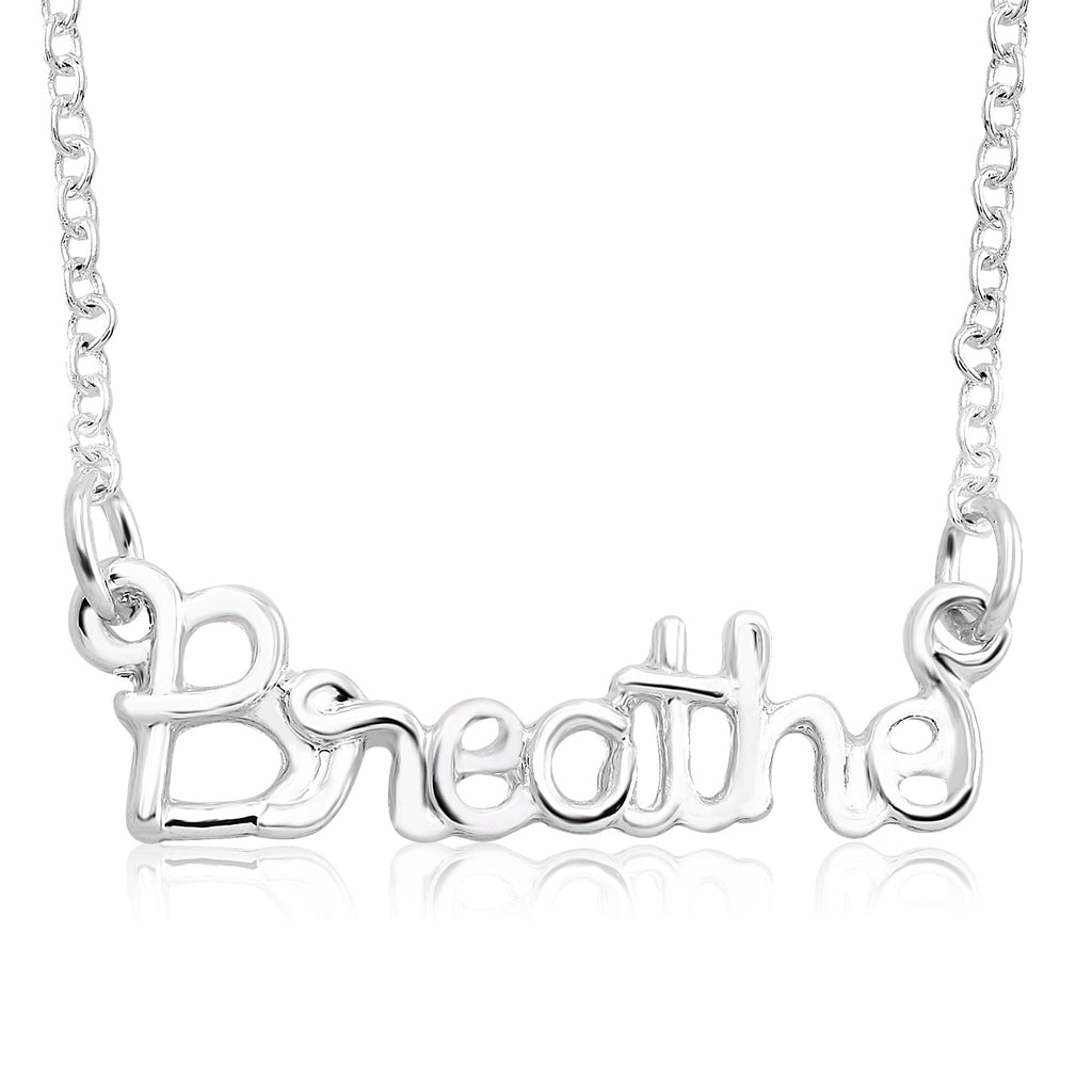 Inspirational Word Necklaces - Assorted Styles-Breathe-Daily Steals