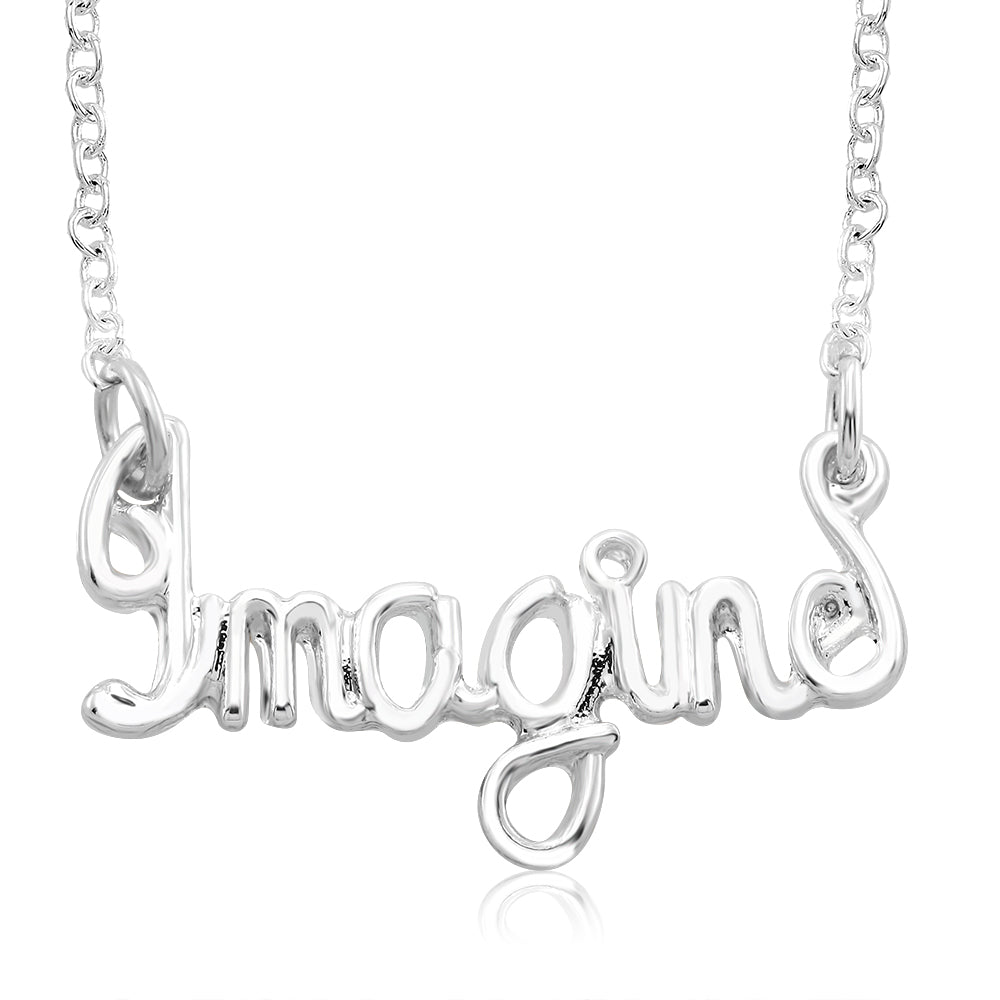 Inspirational Word Necklaces - Assorted Styles-Imagine-Daily Steals