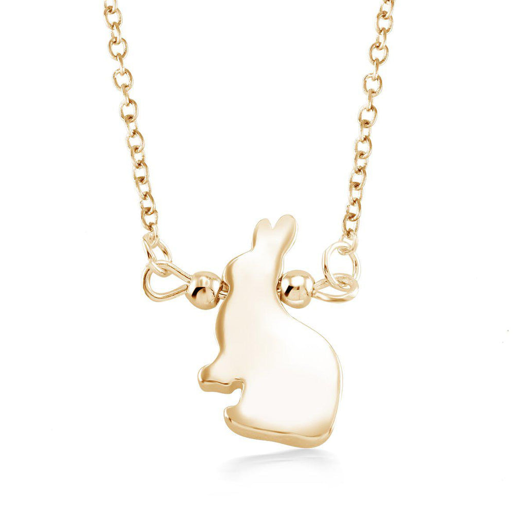 update alt-text with template Daily Steals-Beautiful & Stylish Animal Drop Necklace-Jewelry-Yellow-Rabbit-