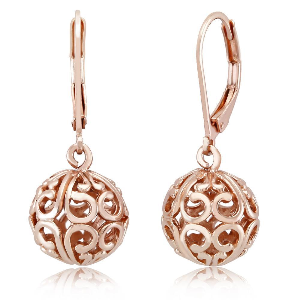 update alt-text with template Daily Steals-[2-Pack] Rose Gold Filigree Earrings-Jewelry-