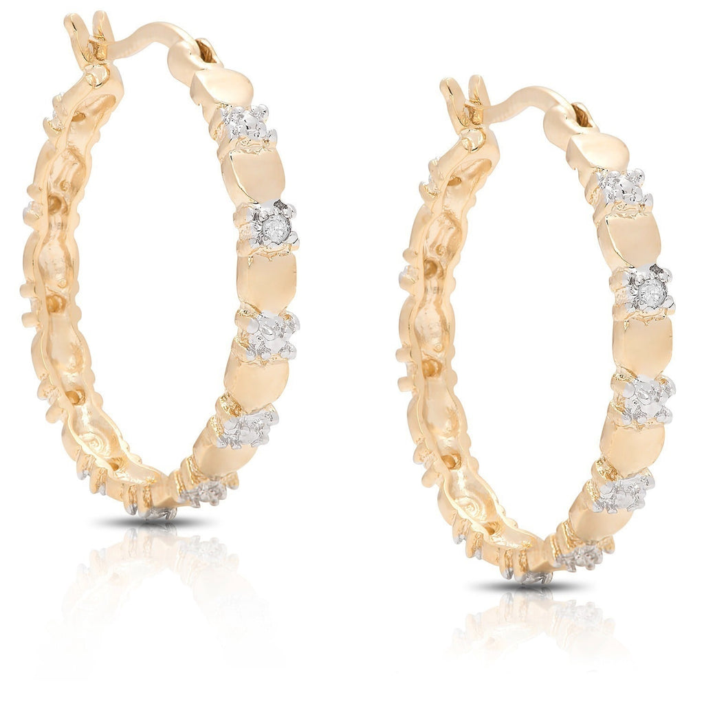 Polka Dot Hoop Earrings-Daily Steals
