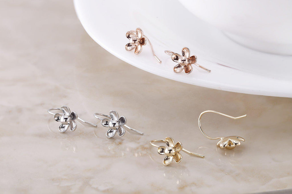 Flower Drop Earrings-Daily Steals