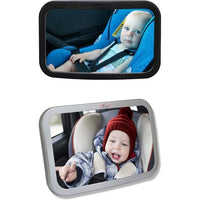 Baby Car Mirror by CarCoo-Black-