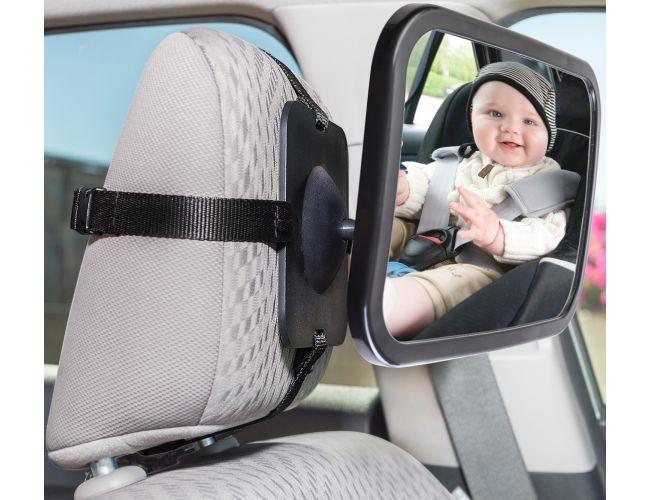 Daily Steals-Baby Car Mirror for Rear-Facing Child Seat - Adjustable-Toddlers and Babies-