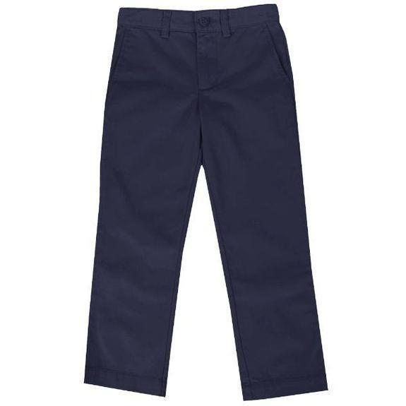 Daily Steals-Back To School Boys Flat Front School Uniform Pants-Men's Apparel-Navy-4-