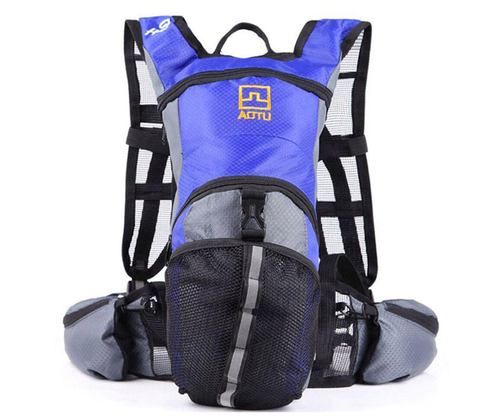 Outdoor Sports Multi Purpose Hydration Backpack-Blue-Daily Steals