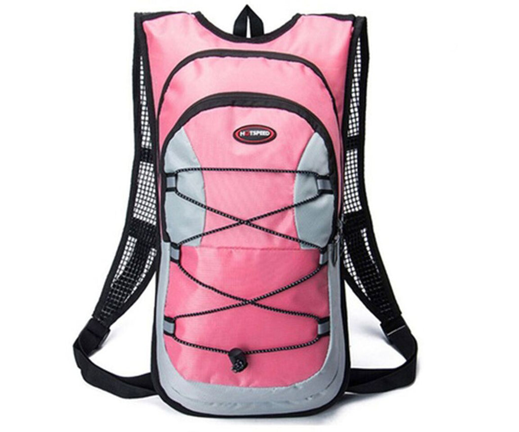 Outdoor Sports Multi Purpose Hydration Backpack-Pink-Daily Steals