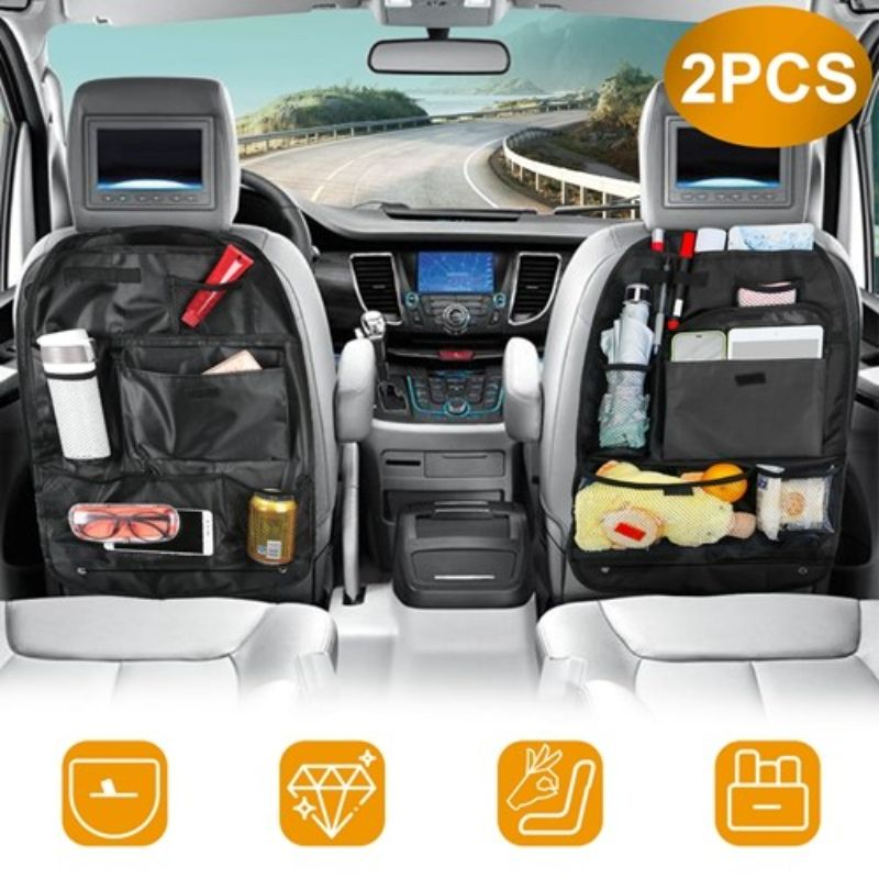 Backseat Car Multi Pocket Organizer - 2 Pack