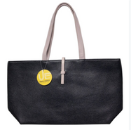 Urban Energy Crosstown Tote With Slip-Through Strap-Black-Daily Steals