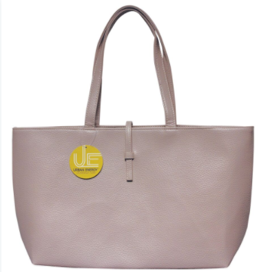 Urban Energy Crosstown Tote With Slip-Through Strap-Taupe-Daily Steals