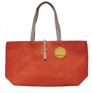 Urban Energy Crosstown Tote With Slip-Through Strap-Orange-Daily Steals