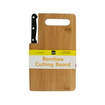 Daily Steals-Bamboo Cutting Board with Built-In Knife-Kitchen-