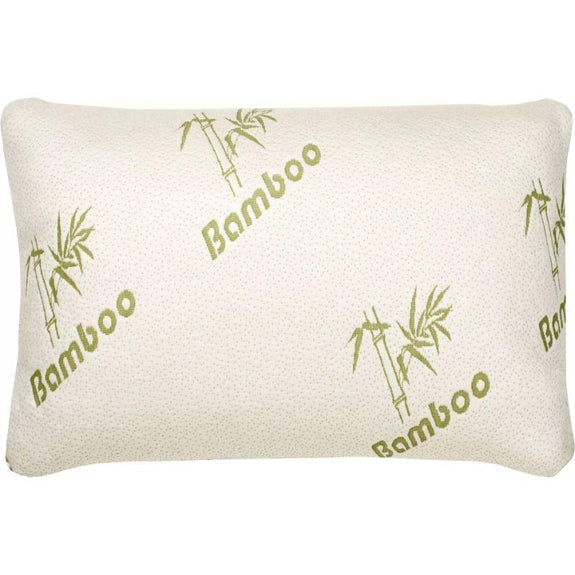 Bamboo Comfort Memory Foam Pillows - Hypoallergenic Cover - 1 or 2 Pack-Standard/Queen - 1 Pack-Daily Steals
