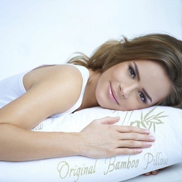 Bamboo Memory Foam Hypoallergenic Pillow - Assorted Sizes-Daily Steals