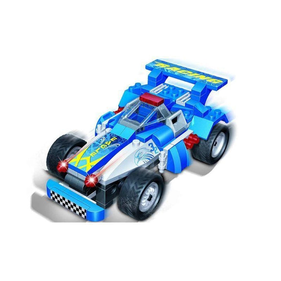 BanBao Building Set Pull-Back Race Car-Eagle-Daily Steals