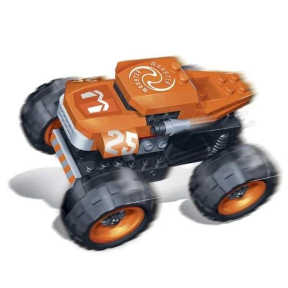 BanBao Building Set Pull-Back Race Car-Monster-Daily Steals