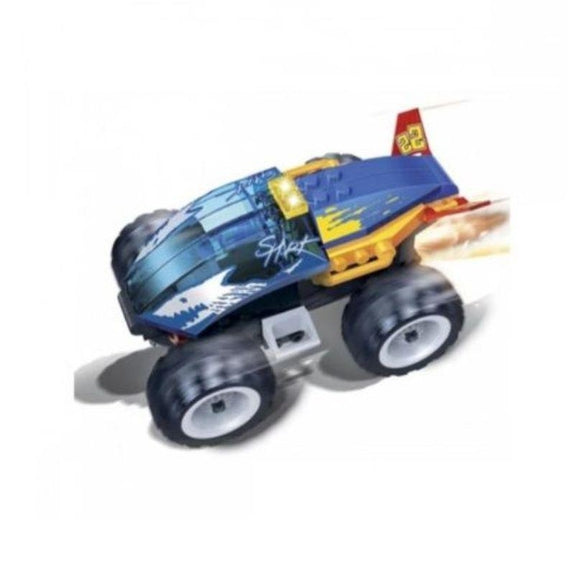 BanBao Building Set Pull-Back Race Car-Shark-Daily Steals