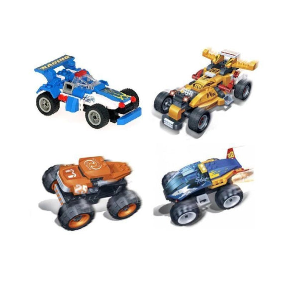 BanBao Building Set Pull-Back Race Car-Daily Steals