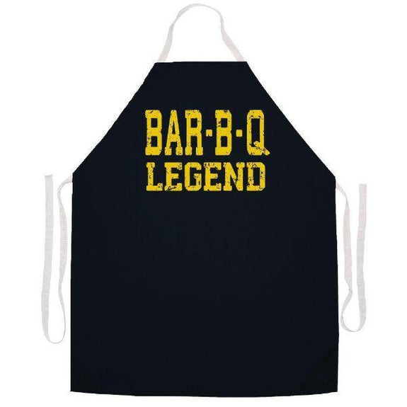 update alt-text with template Daily Steals-Made in USA Humor Grilling BBQ Aprons - Unisex-Kitchen-2489 Bar-b-q legend-