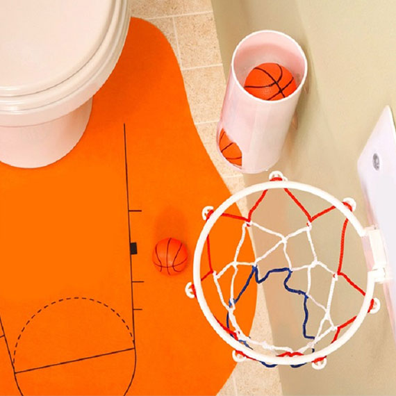 Mini Sports Games for Office, Bathroom and Bedroom-Hoops-Daily Steals